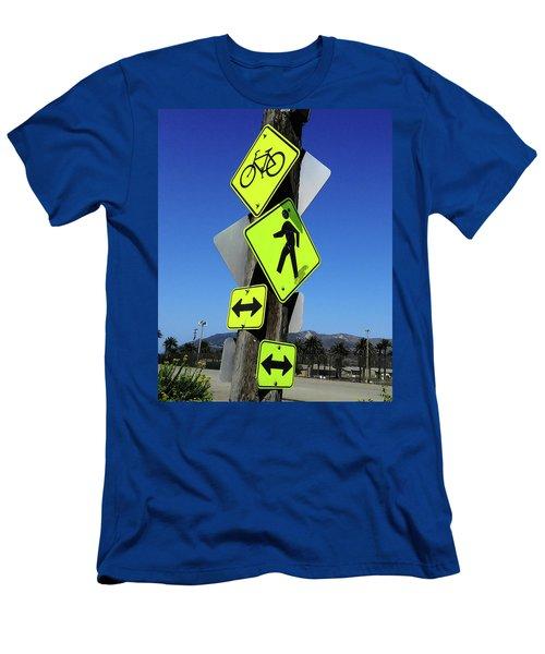 What Men's T-Shirt (Slim Fit) by Joe  Palermo