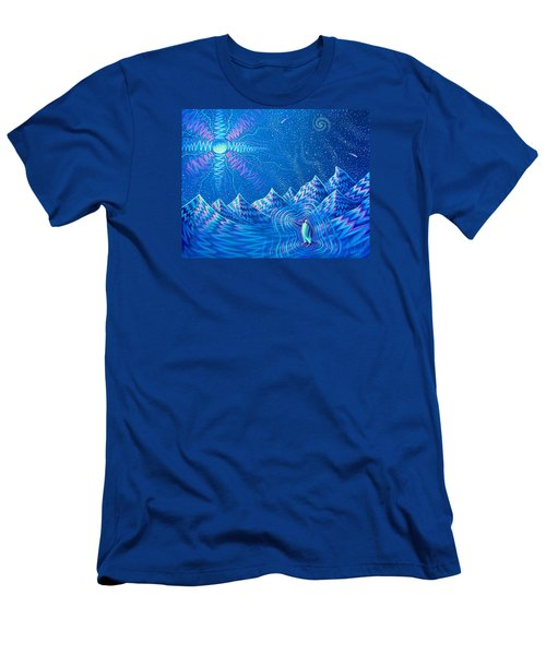 Enlightenment Of The Penguin Men's T-Shirt (Athletic Fit)