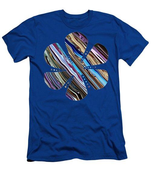Whimsical Flower 3 Men's T-Shirt (Athletic Fit)