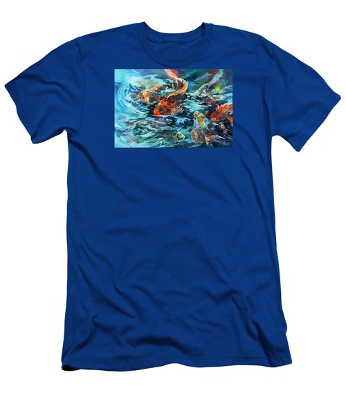 Whirling Dervish Men's T-Shirt (Slim Fit) by Rae Andrews