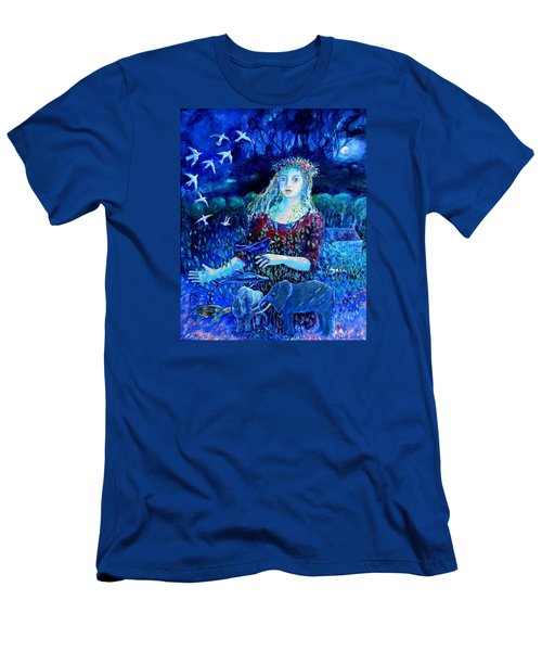 Whispers From The Future  Men's T-Shirt (Slim Fit) by Trudi Doyle