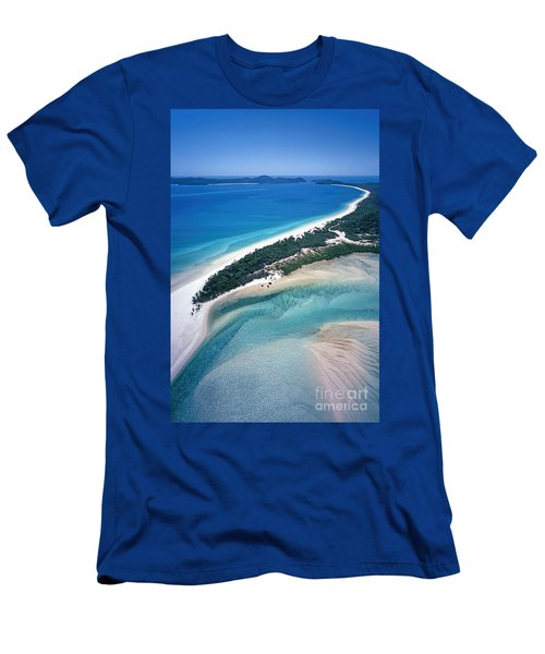Men's T-Shirt (Athletic Fit) featuring the photograph Whitsunday Islands by Juergen Held