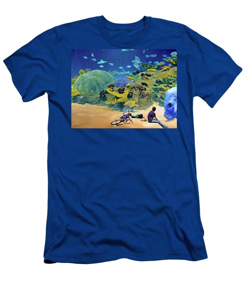 Who's Fishing? Men's T-Shirt (Athletic Fit)