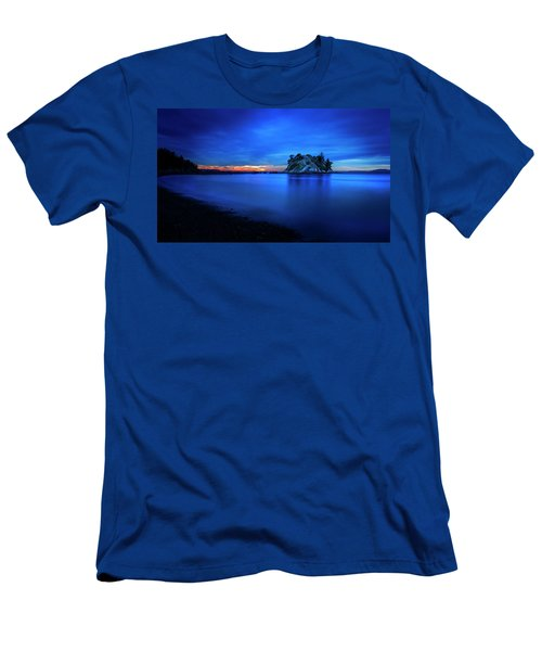 Whytecliff Sunset Men's T-Shirt (Slim Fit) by John Poon