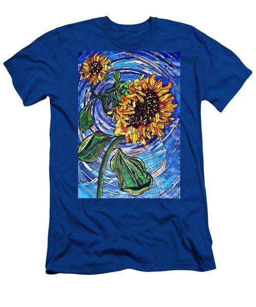 Wild Sunflowers Men's T-Shirt (Athletic Fit)