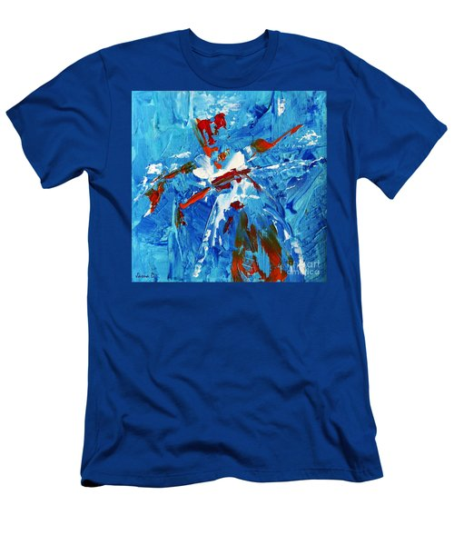 Will You Dance With Me? Men's T-Shirt (Slim Fit) by Jasna Dragun
