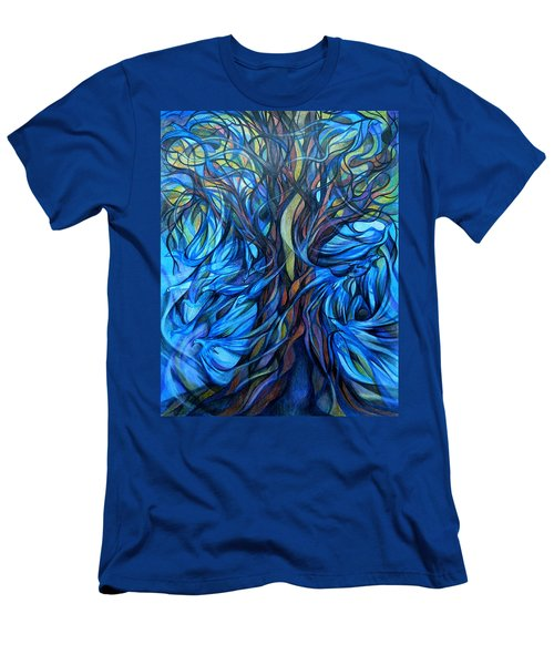 Wind From The Past Men's T-Shirt (Athletic Fit)