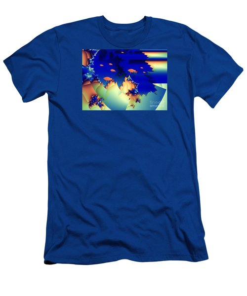Window On The Undersea Men's T-Shirt (Slim Fit) by Ron Bissett
