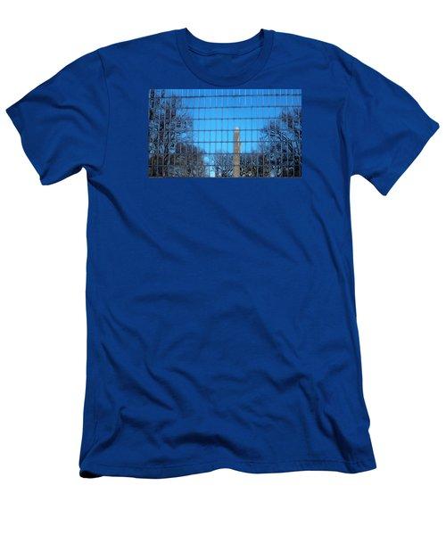 Window Reflection  Men's T-Shirt (Slim Fit) by Jewels Blake Hamrick