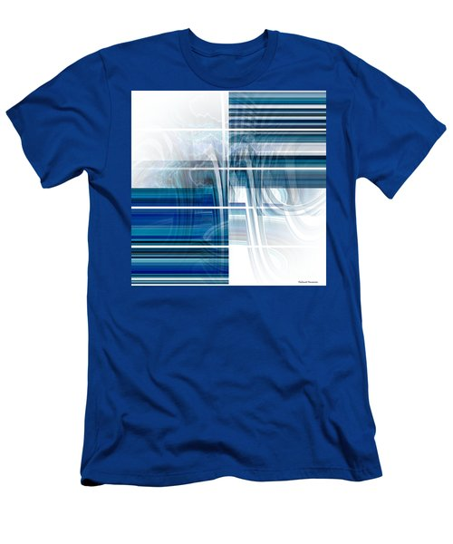 Window To Whirlpool Men's T-Shirt (Slim Fit) by Thibault Toussaint