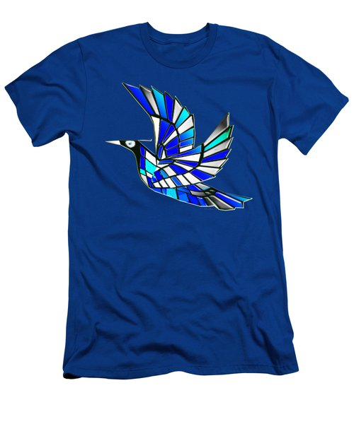 Men's T-Shirt (Slim Fit) featuring the digital art Wings by Asok Mukhopadhyay
