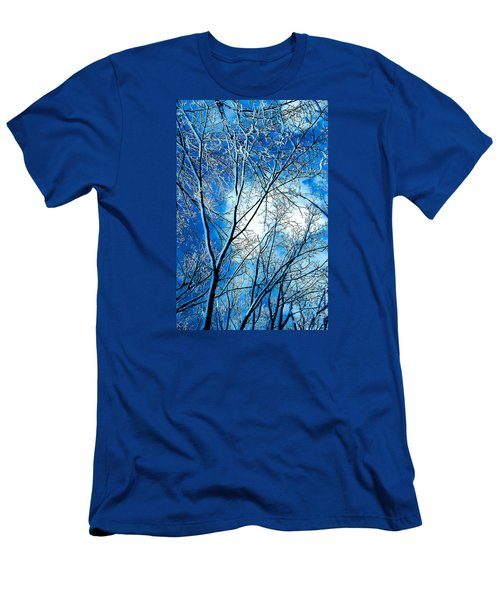 Winter Solstice Men's T-Shirt (Slim Fit) by Michael Nowotny
