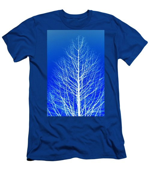 Men's T-Shirt (Athletic Fit) featuring the photograph Winter Tree by Donna Bentley