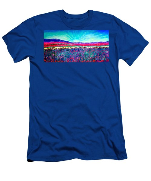 Wishing You The Sunshine Of Tomorrow Men's T-Shirt (Slim Fit) by Kimberlee Baxter