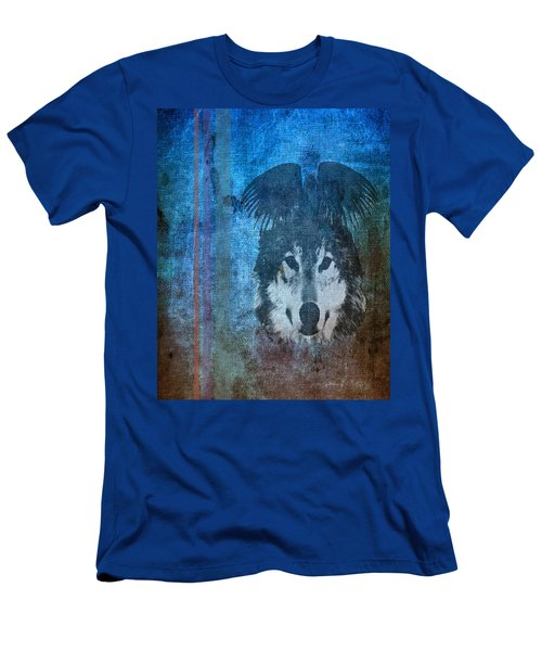 Wolf And Raven Men's T-Shirt (Slim Fit) by Thomas M Pikolin