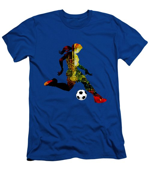 Womens Soccer Collection Men's T-Shirt (Athletic Fit)