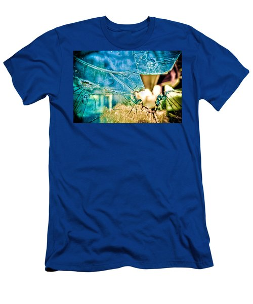 Men's T-Shirt (Athletic Fit) featuring the photograph World In My Eyes by TC Morgan