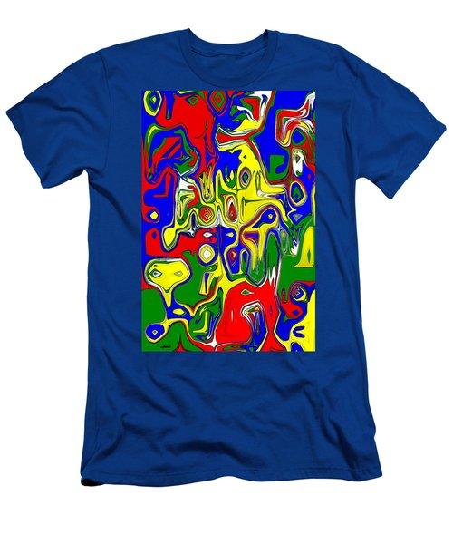 Men's T-Shirt (Slim Fit) featuring the digital art Yage by Maciek Froncisz
