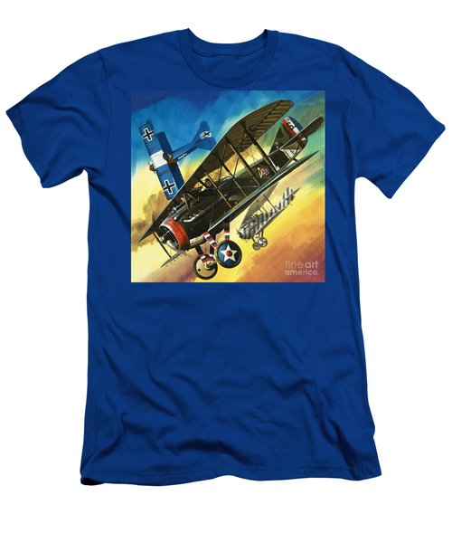 Yankee Super Ace Edward Rickenbacker Men's T-Shirt (Athletic Fit)