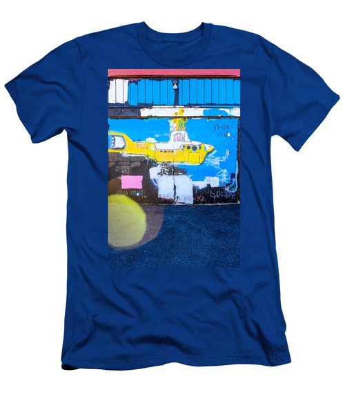 Yello Sub Men's T-Shirt (Slim Fit) by Colleen Kammerer