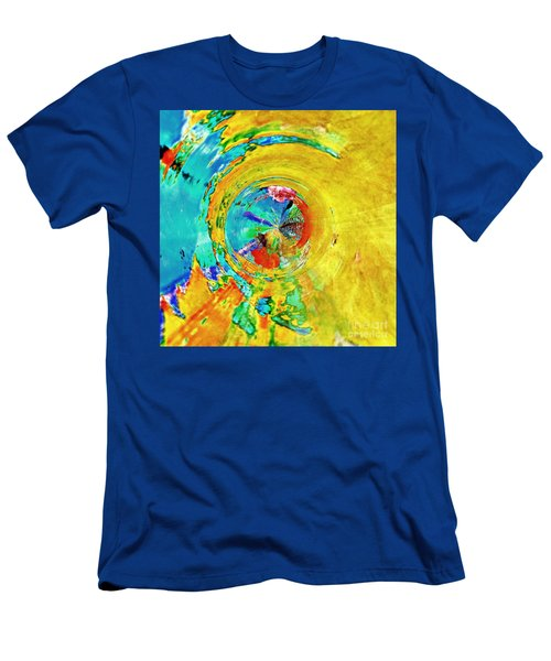 Yellow Eclipse  Men's T-Shirt (Athletic Fit)