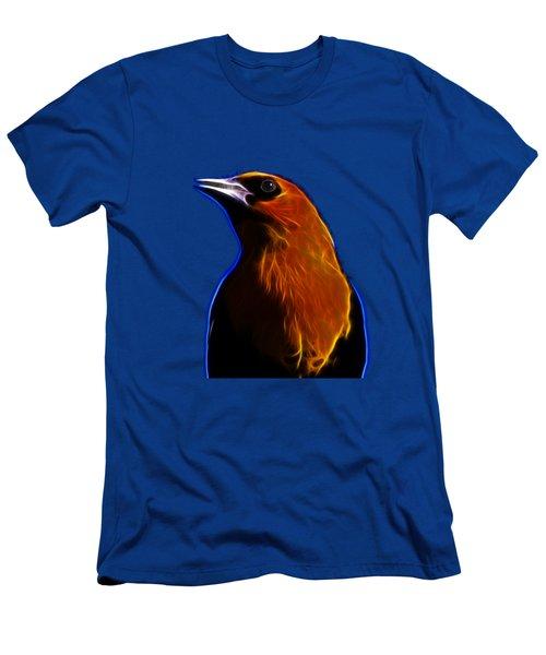 Yellow Headed Blackbird Men's T-Shirt (Slim Fit) by Shane Bechler