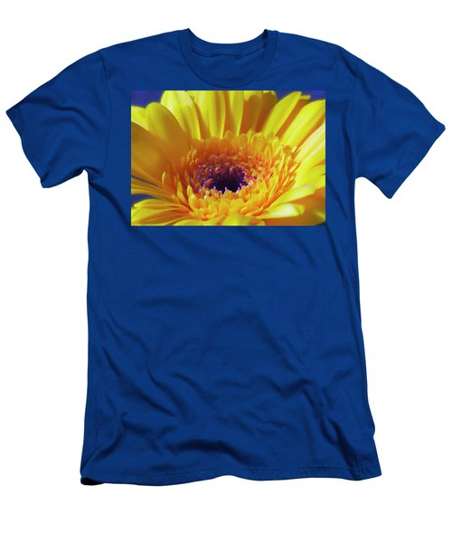 Yellow Joy And Inspiration Men's T-Shirt (Athletic Fit)