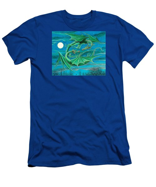 Young Dragons Frisk Men's T-Shirt (Slim Fit) by Charles Cater