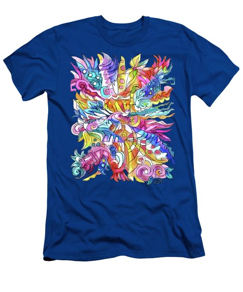 Zentangle-off The Cuff Men's T-Shirt (Athletic Fit)