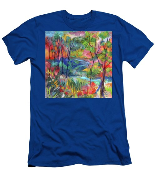 Bright Country Men's T-Shirt (Athletic Fit)