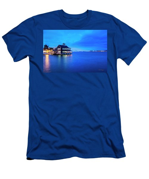 Dinner On The Bay Men's T-Shirt (Athletic Fit)