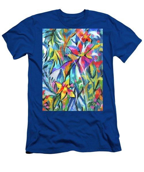 Jungle Garden Men's T-Shirt (Athletic Fit)