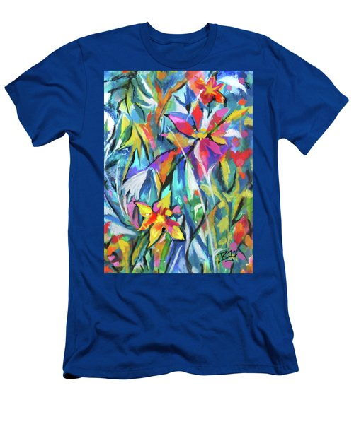 Jungle Garden Men's T-Shirt (Athletic Fit)