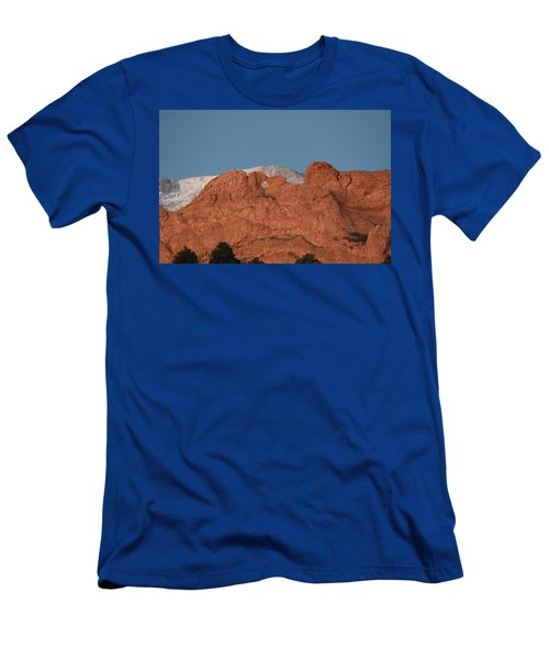 Men's T-Shirt (Athletic Fit) featuring the photograph Kissing Camels by Margarethe Binkley