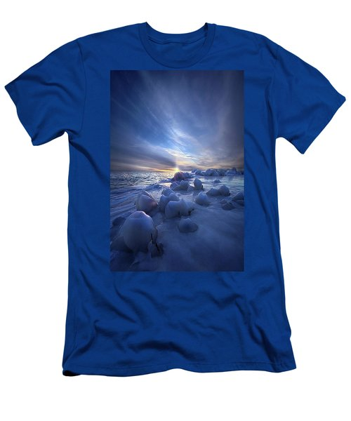 Men's T-Shirt (Athletic Fit) featuring the photograph Letting Go by Phil Koch