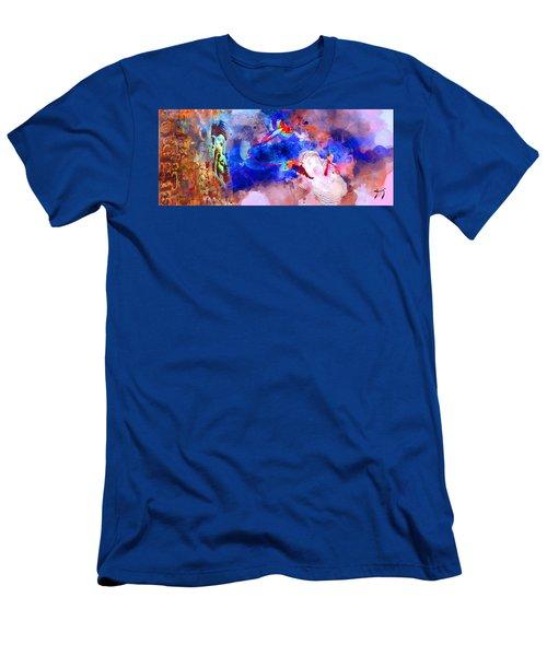 Mi Pais Men's T-Shirt (Athletic Fit)