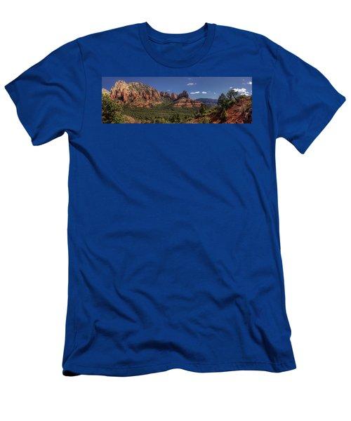 Mormon Canyon Panorama Men's T-Shirt (Athletic Fit)