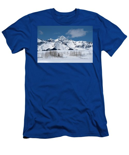 Men's T-Shirt (Athletic Fit) featuring the photograph Mt Wilson by Angela Moyer
