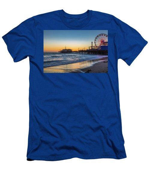 Pacific Park On The Pier Men's T-Shirt (Athletic Fit)