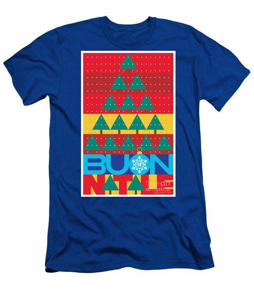 2017 Alfa Club Christmas Card Men's T-Shirt (Athletic Fit)
