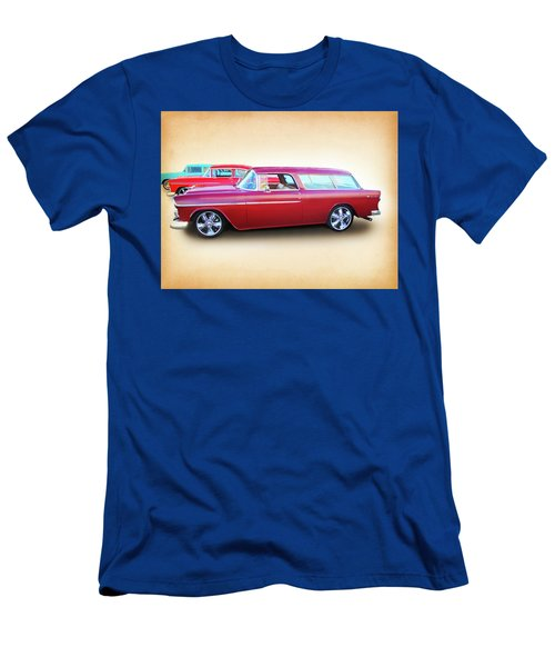 3 - 1955 Chevy's Men's T-Shirt (Athletic Fit)