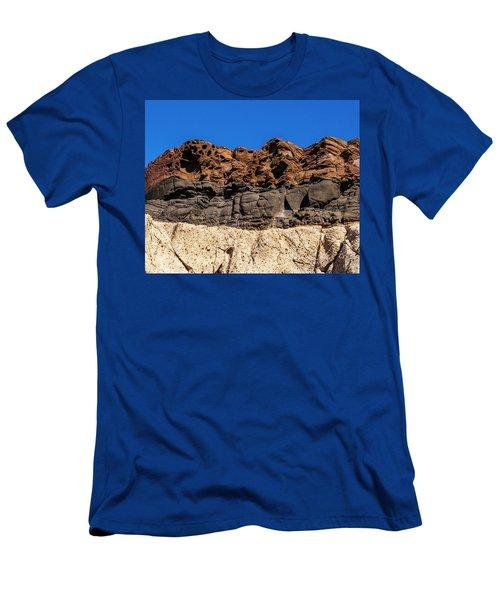 4 Textures 4 Colors Men's T-Shirt (Athletic Fit)