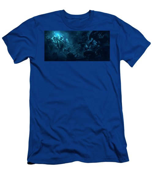 501 Vs Aliens 1 Men's T-Shirt (Athletic Fit)