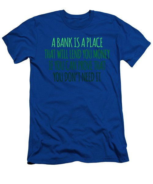 A Bank Men's T-Shirt (Athletic Fit)
