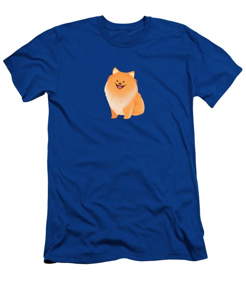 A Pomeranian Makes A House A Home Men's T-Shirt (Athletic Fit)