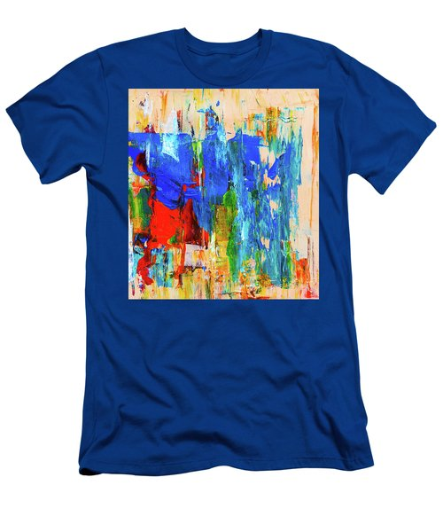 Men's T-Shirt (Athletic Fit) featuring the painting Ab19-7 by Arttantra