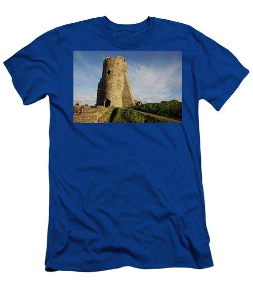 Aberystwyth. The Castle Gatehouse. Men's T-Shirt (Athletic Fit)