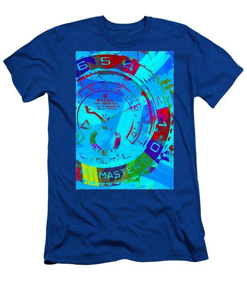 Abstract Rolex Digital Paint 11 Men's T-Shirt (Athletic Fit)