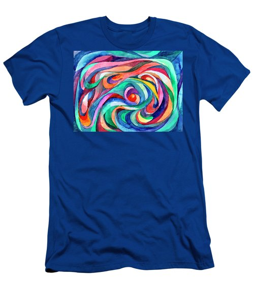 Abstract Underwater World Men's T-Shirt (Athletic Fit)