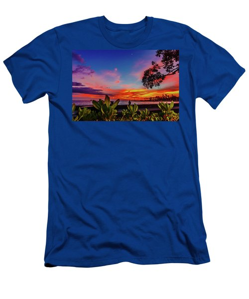 After Sunset Colors Men's T-Shirt (Athletic Fit)